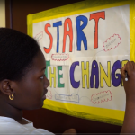 "The video ""Start the Change"""