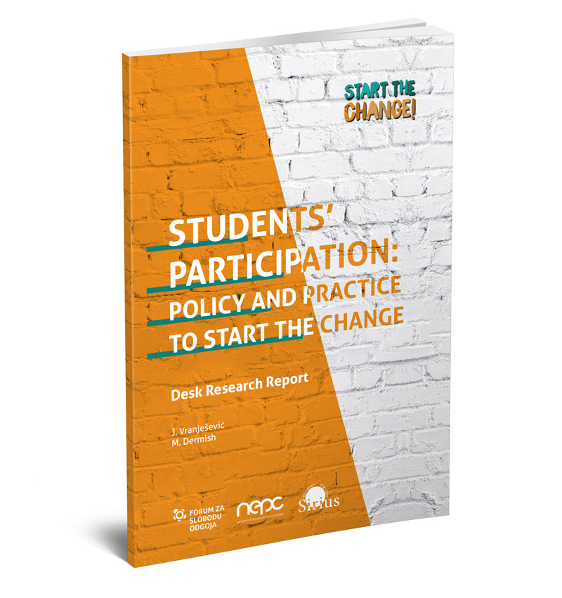 STUDENTS' PARTICIPATION: POLICY AND PRACTICE TO START THE CHANGE